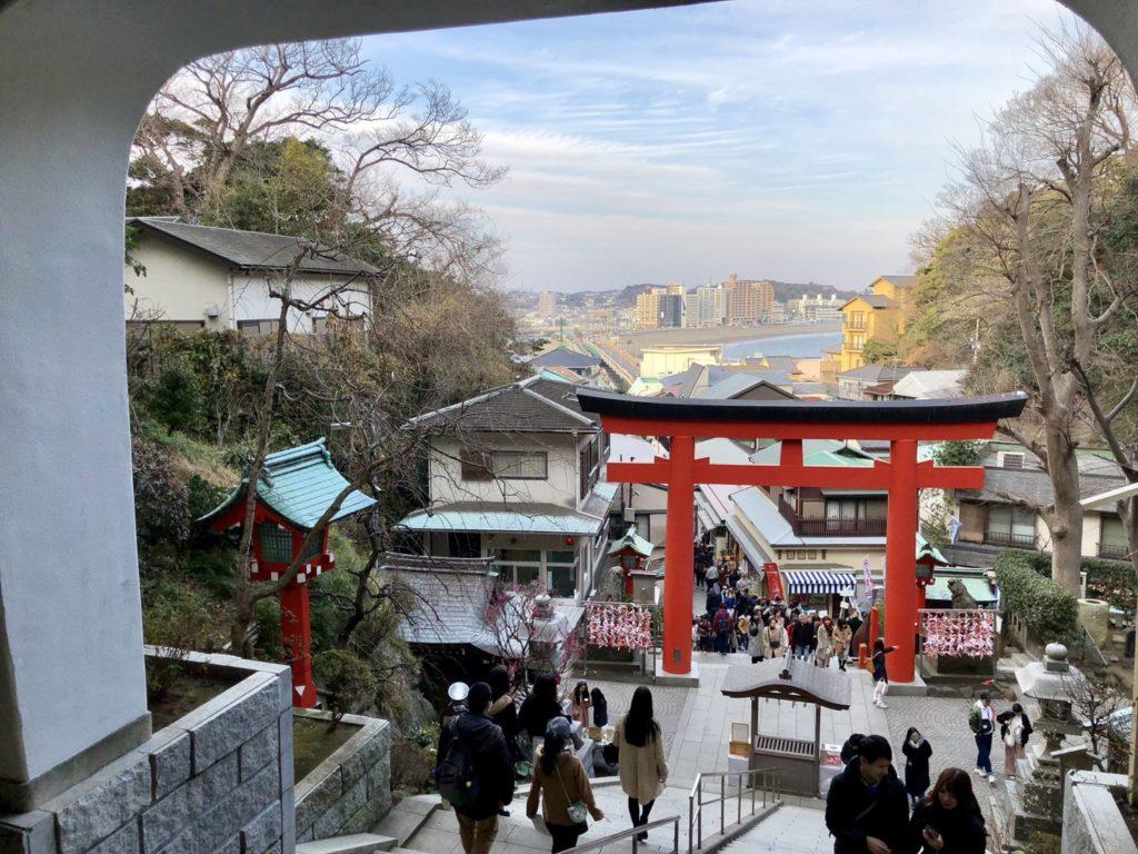 江島神社からの景色