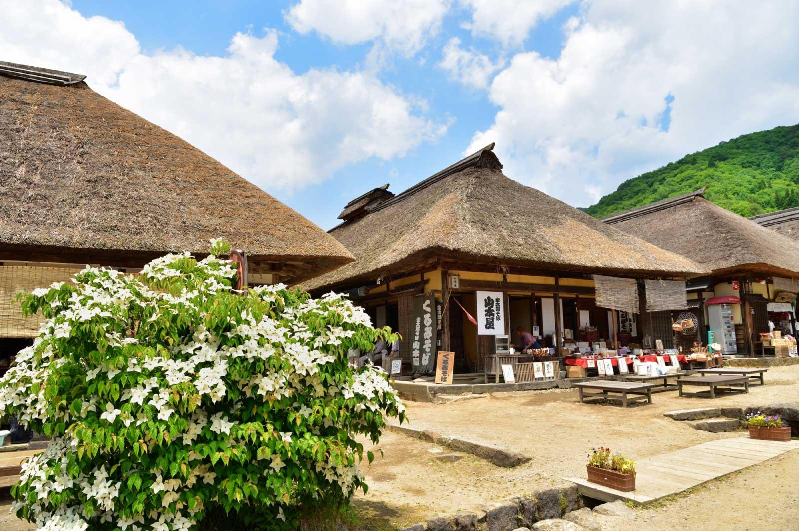 農村の集落をこれほどまでに保存、再現している場所はほかにもあまりない