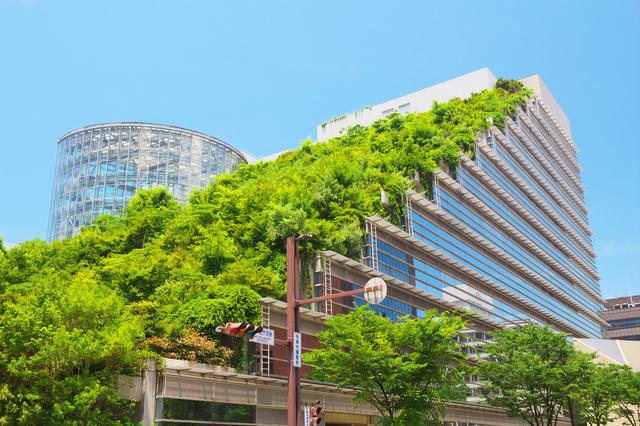 「アクロス福岡」は1995年に、福岡の新たなランドマーク