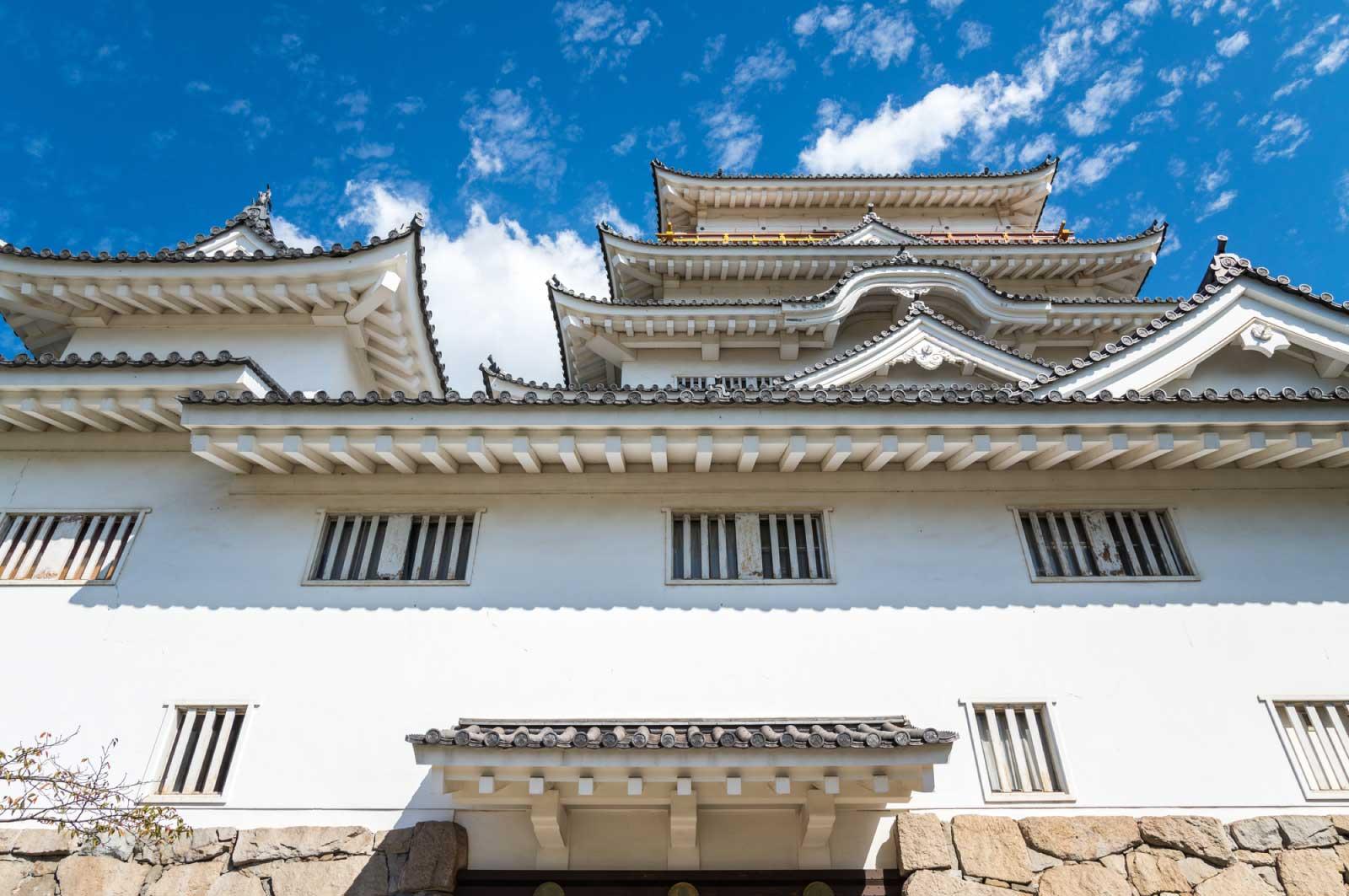 日本の100名城にも選定された福山城