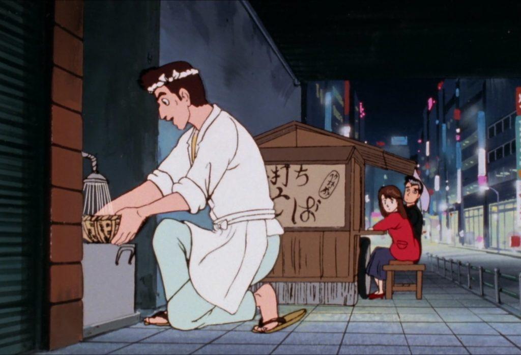 花川勇作と屋台