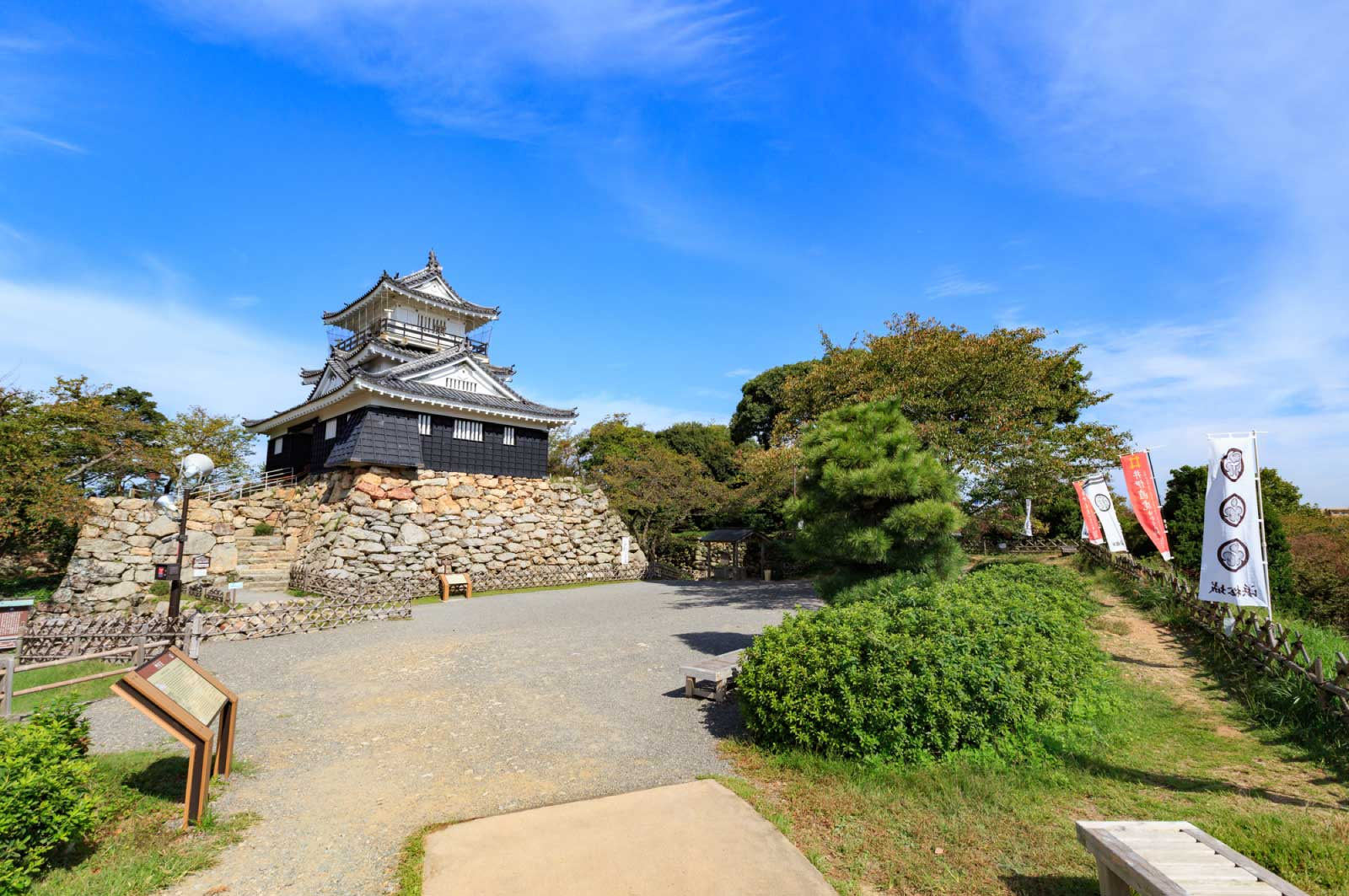 浜松城の天守