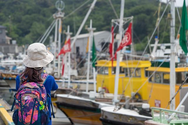 姫路の漁港
