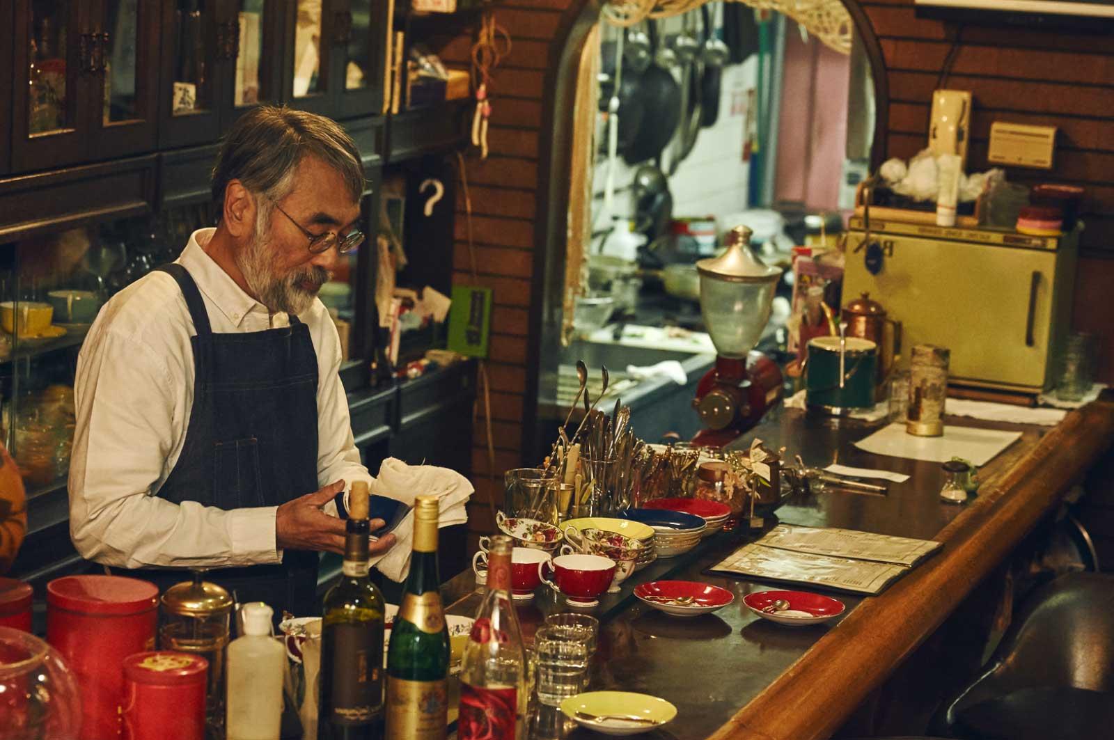 枚方のレトロ喫茶店