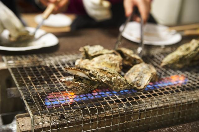観光地の宮島でも特産の牡蠣を堪能することが出来ます