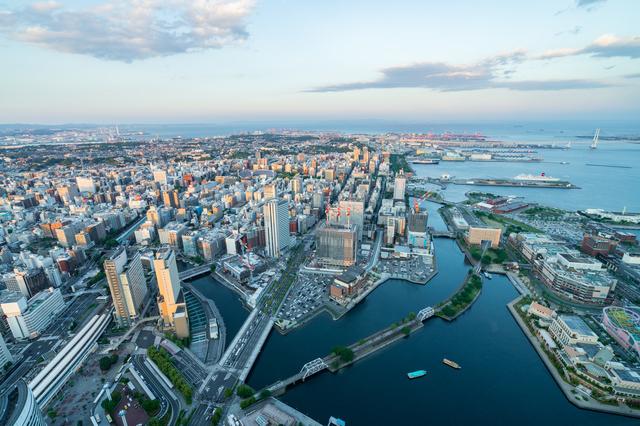 横浜の都市風景