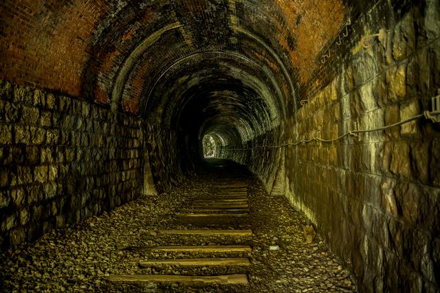 廃線で進入禁止だった福知山線