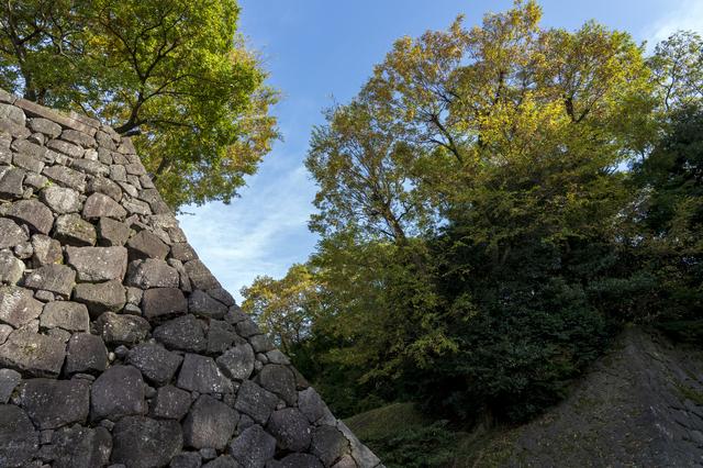 金沢城公園の石垣