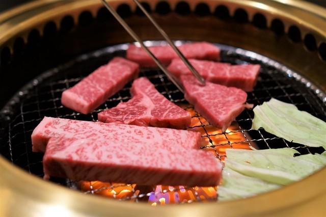 鹿児島黒牛で焼肉