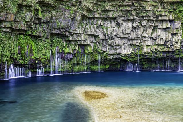 鹿児島・雄川の滝