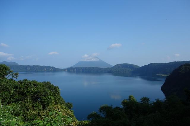 自然が豊かな池田湖