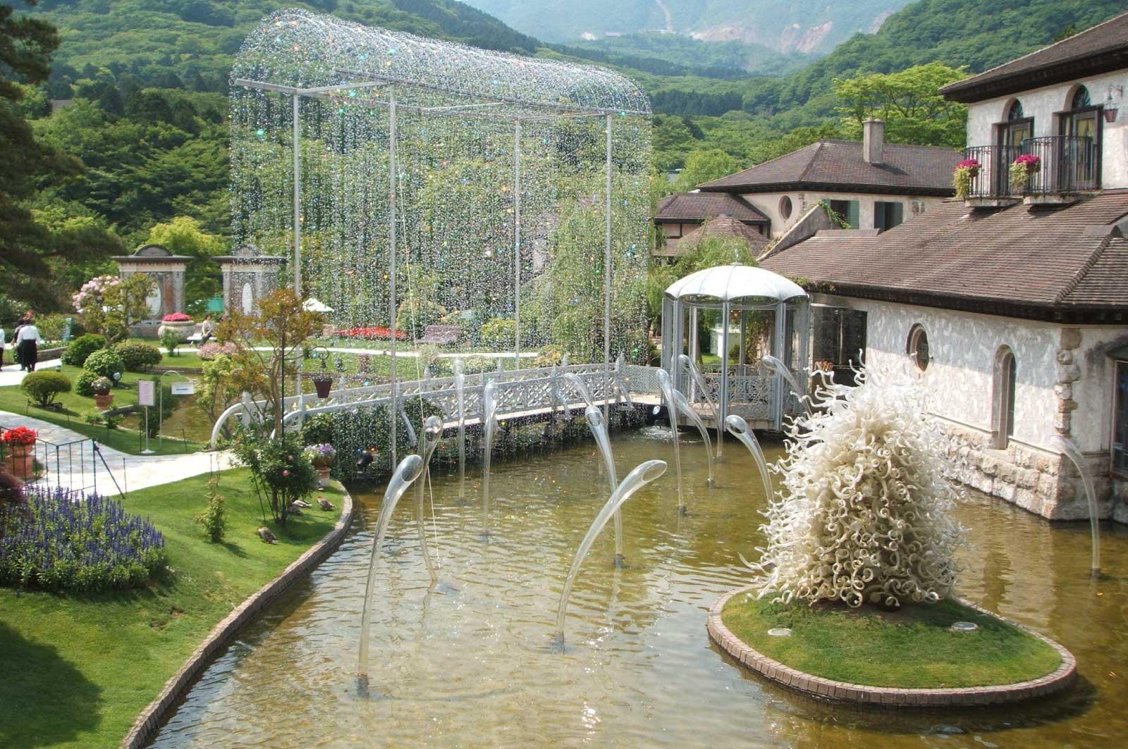 箱根ガラスの森美術館(神奈川)