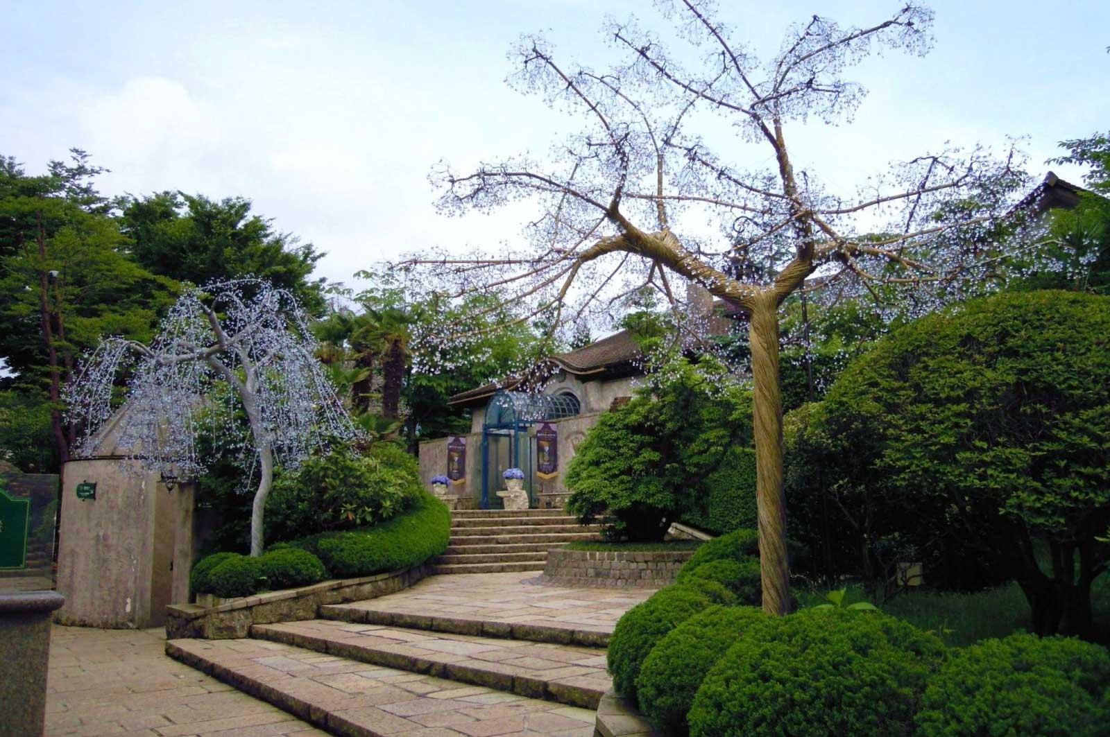 箱根ガラスの森美術館(入り口)