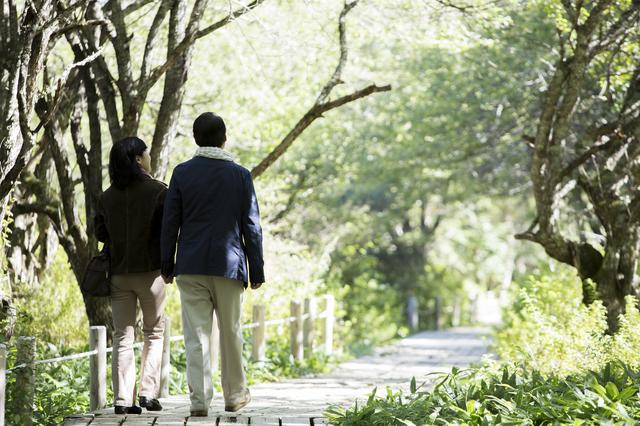 アラフィフ夫婦の散歩