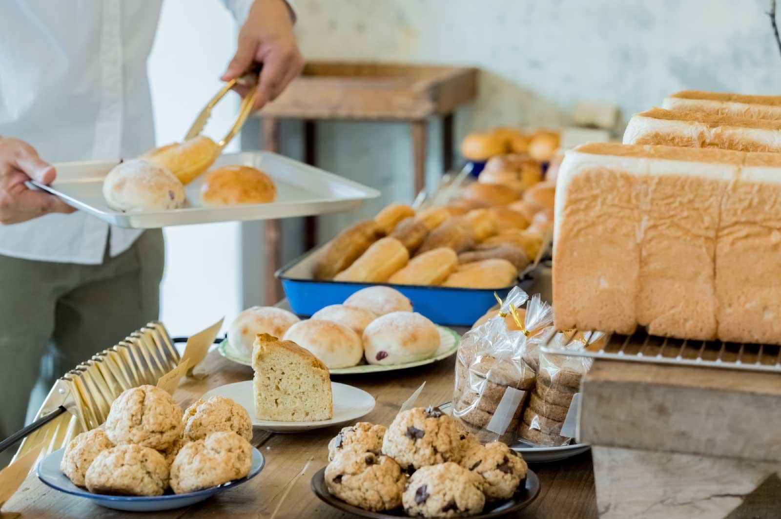 川口のおいしいパン屋さん