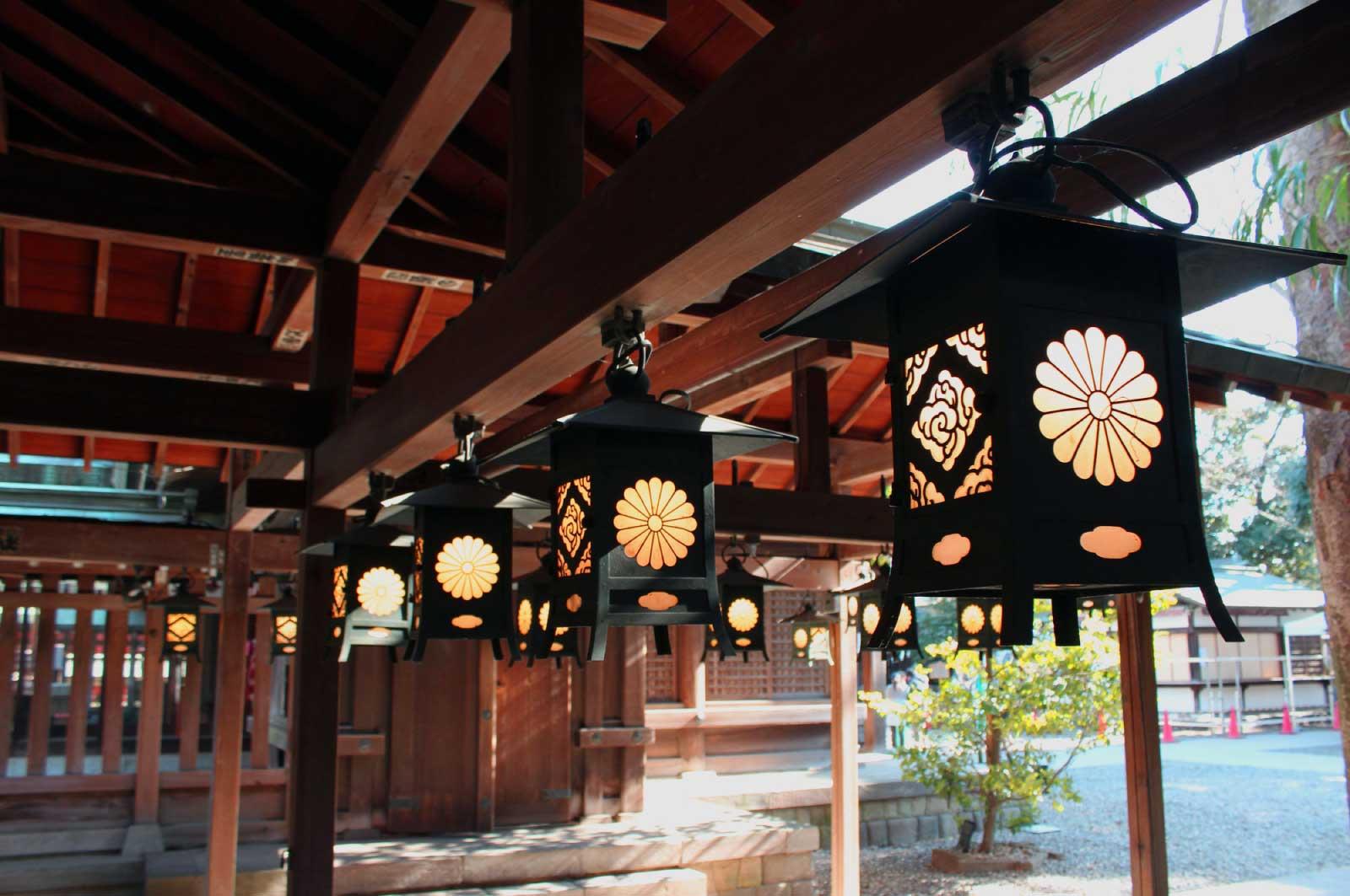 川越随一の神社