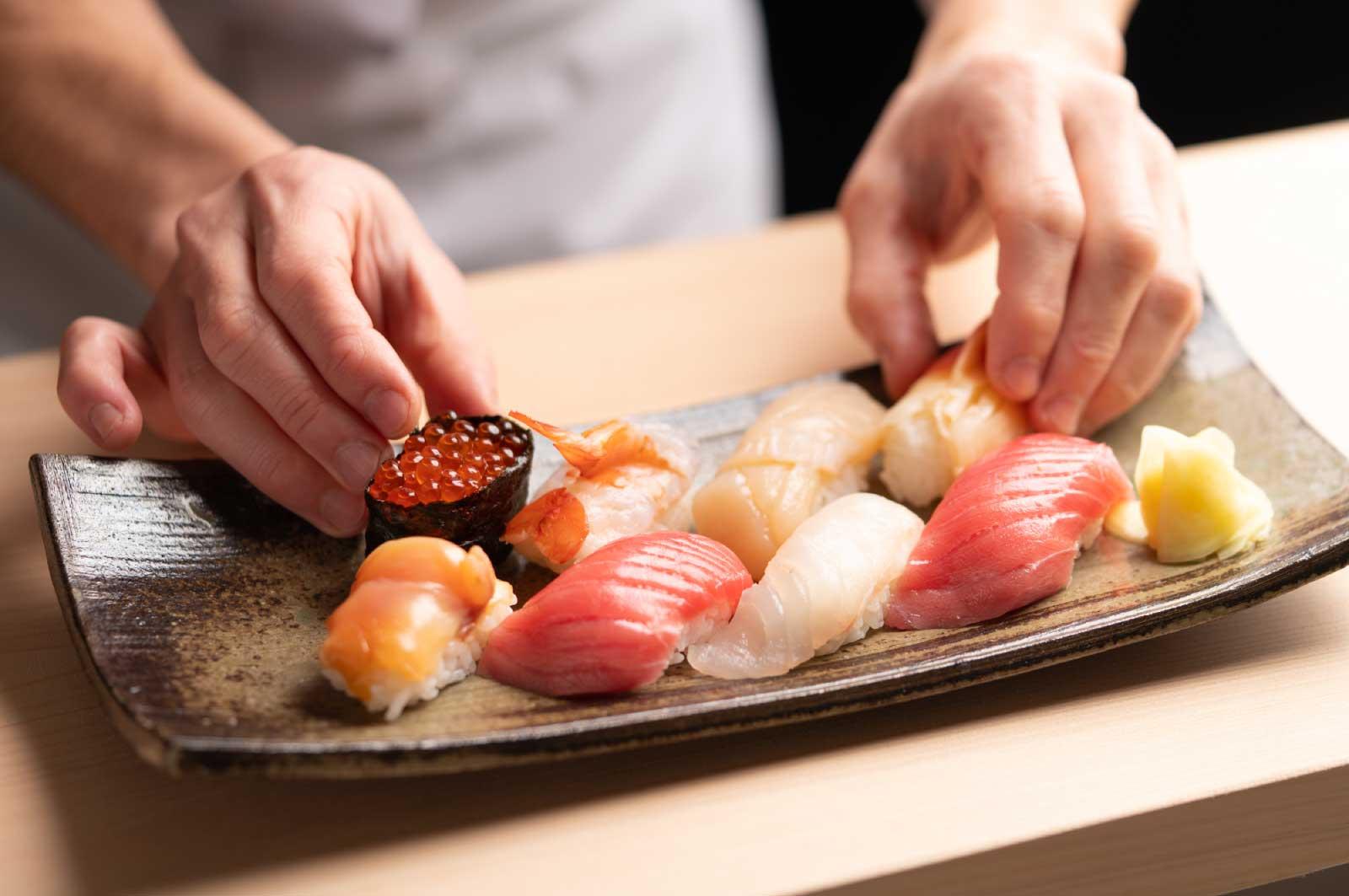 小江戸・川越でお寿司を食べる