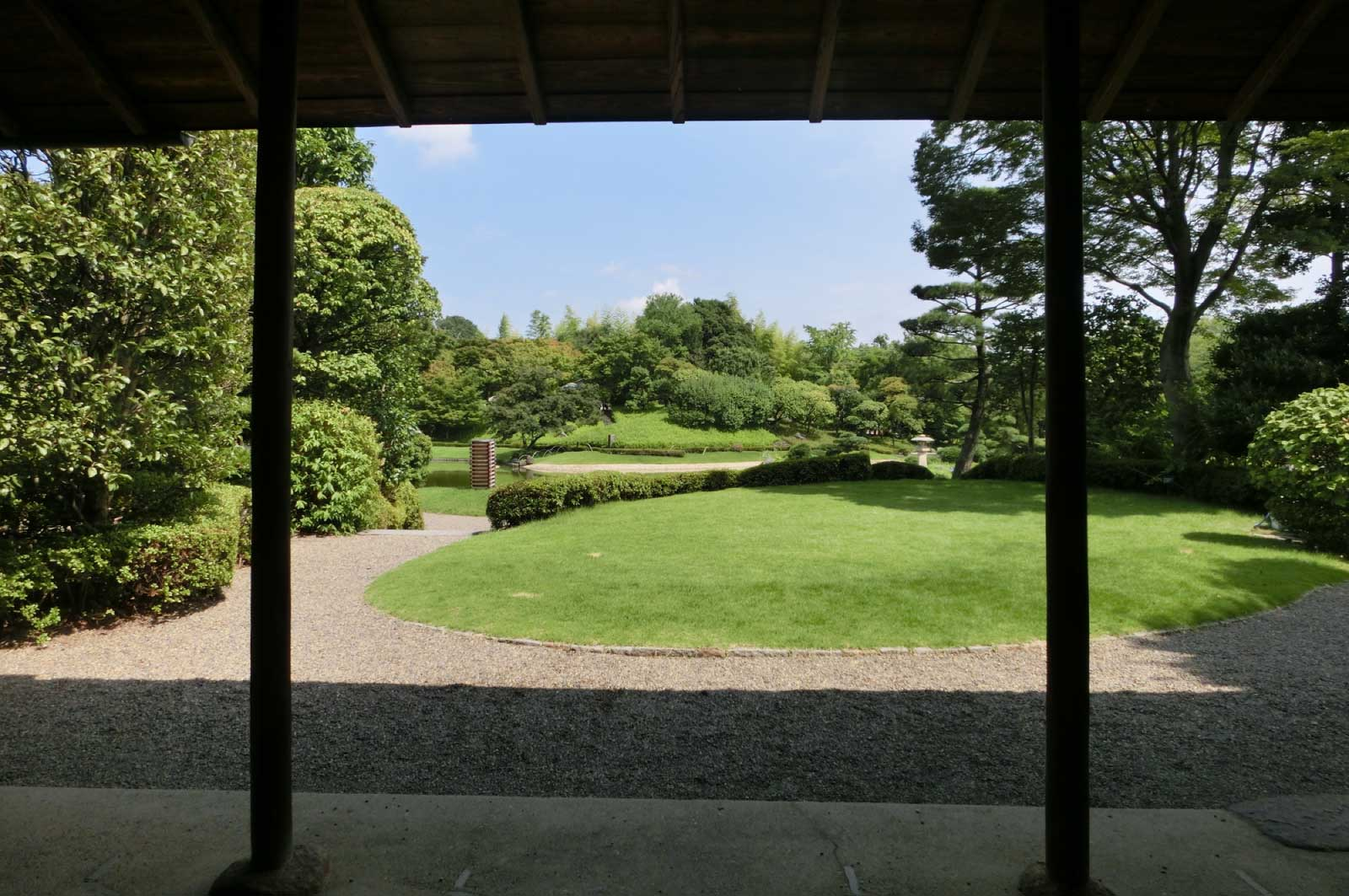 """""""歴史""""や""""由緒""""を持っている庭園ではありません"""