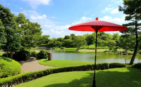 比較的新しい日本庭園