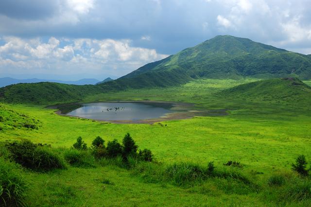 熊本県阿蘇市の阿蘇山