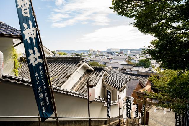 倉敷の神社(阿智神社)