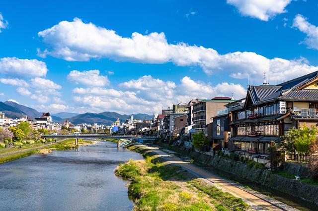 大学では京都に住んでいた