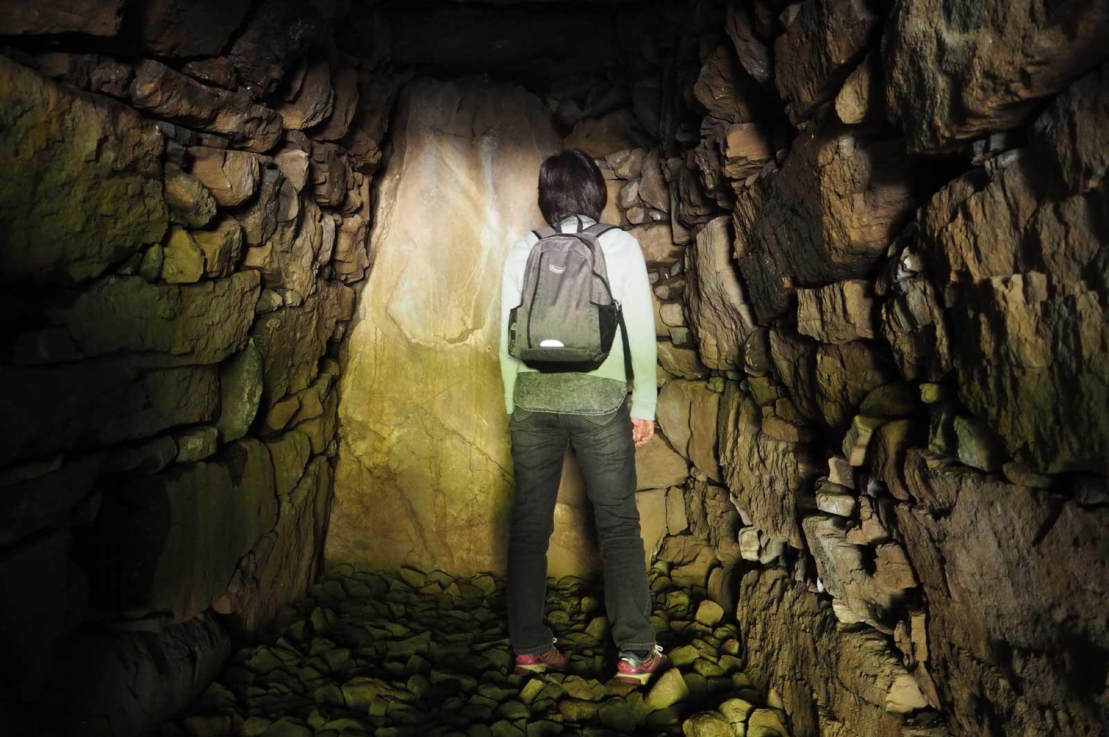 古墳内部の石室
