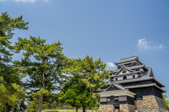 松江城の天守閣