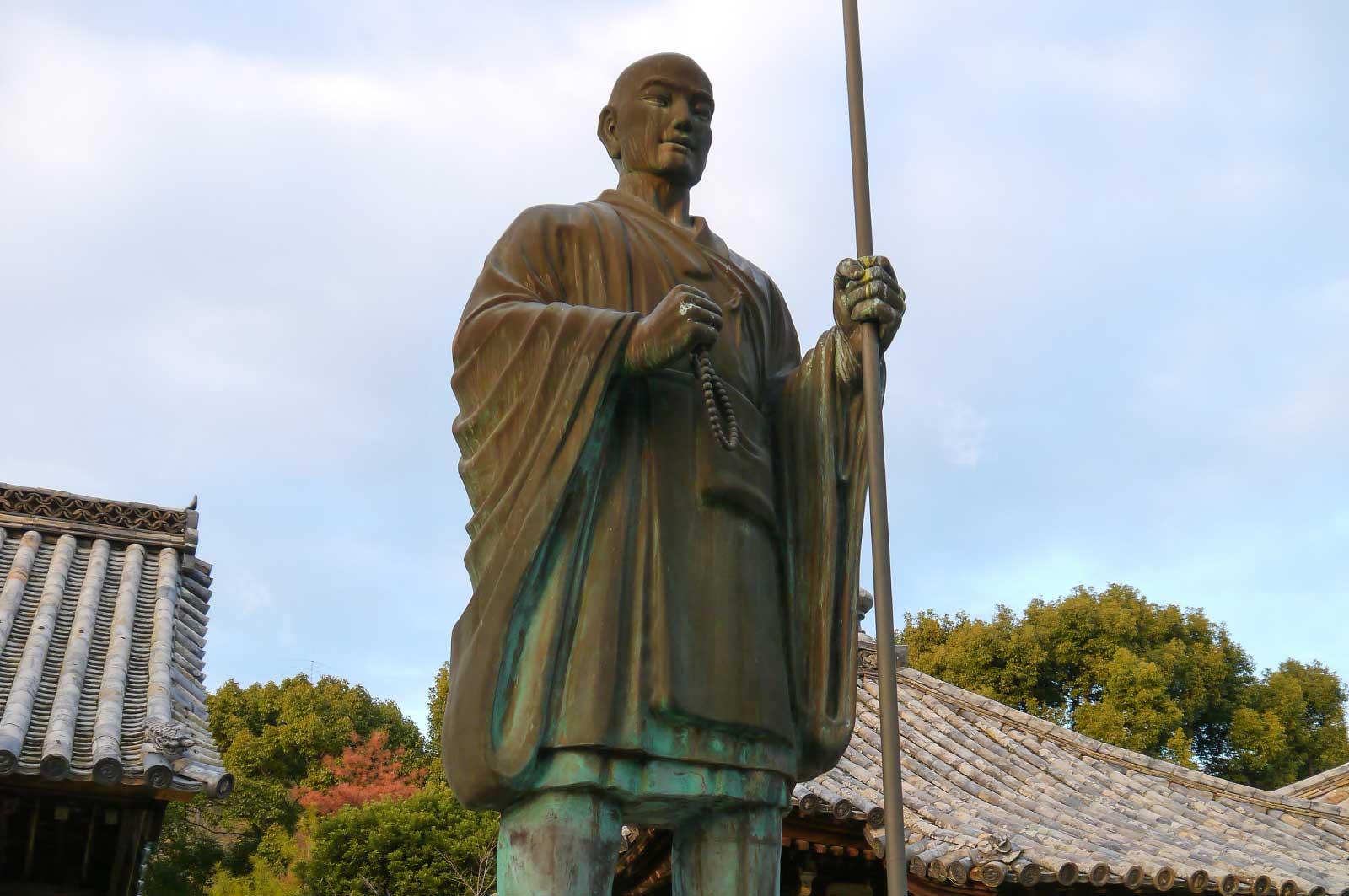 弘法大師像(太山寺)