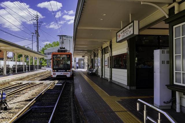 道後温泉駅(松山市内)