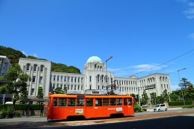 伊予鉄と県庁