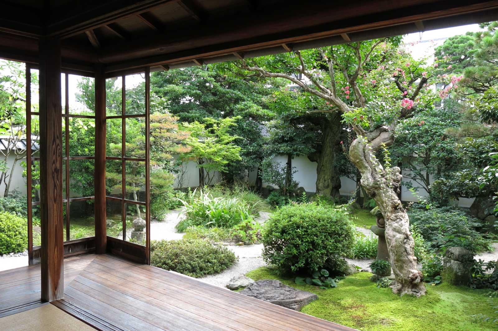 小泉八雲旧居の庭