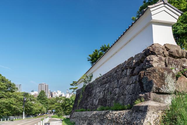 仙台城(別名・青葉城)