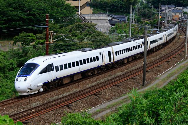 長崎を走る特急ソニック