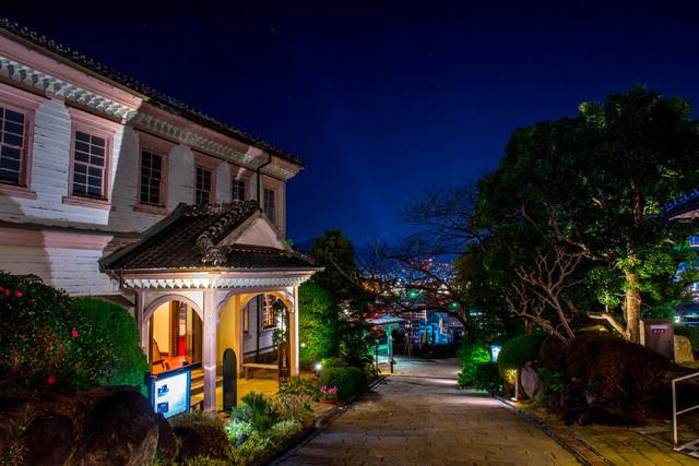 夜の長崎・グラバー園