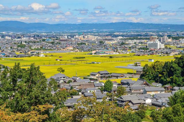 奈良・甘樫丘の眺め