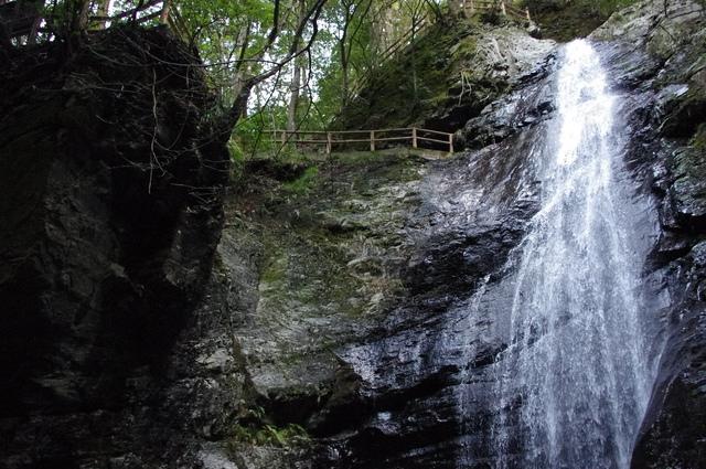 蜻蛉の滝の道のり