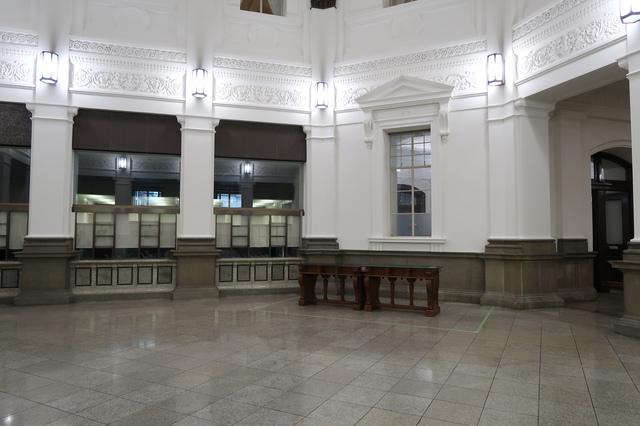 日本銀行旧館・内部