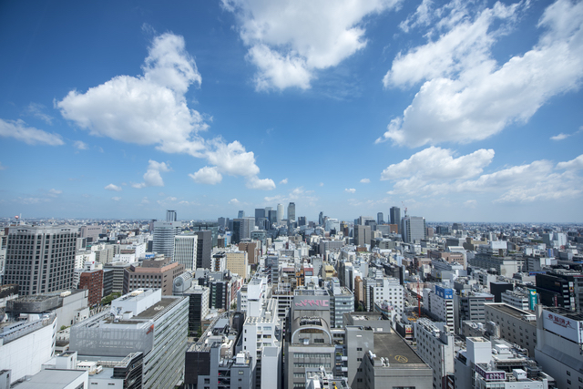 名古屋テレビ塔からの景色