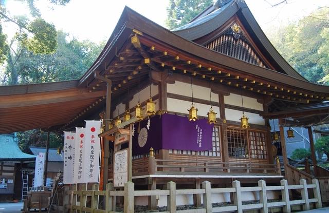 枚岡神社でも特にパワーが強いとされるのは本殿前