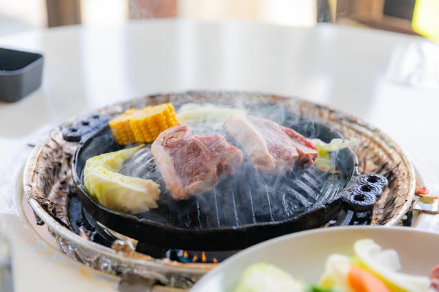 牛焼肉の代わりにジンギスカンはよくやります