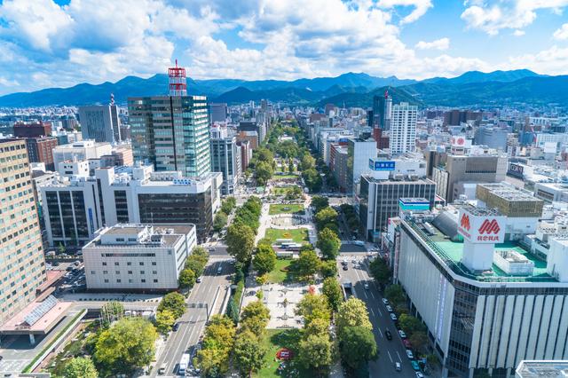 札幌の都市風景