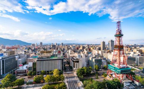 観光都市である札幌