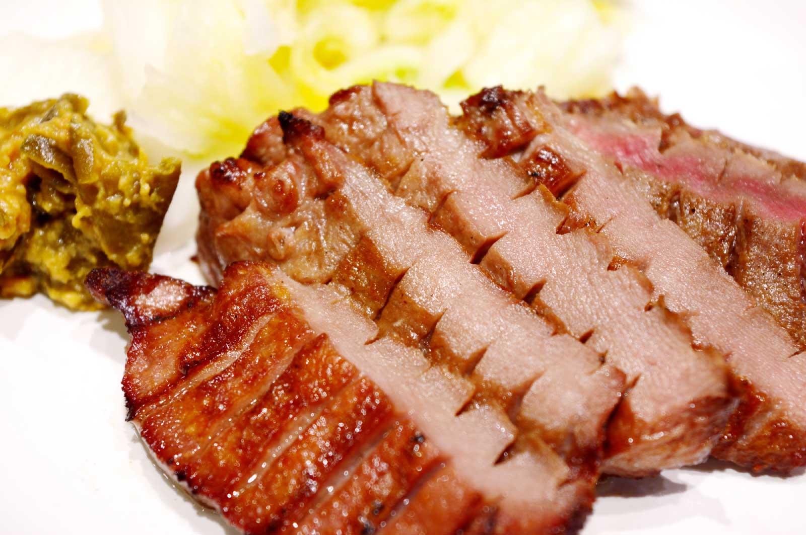 「利久」の牛たんが一番美味しい