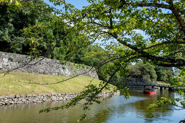 彦根城の屋形船
