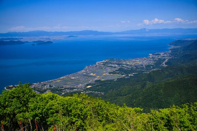 滋賀県にある琵琶湖
