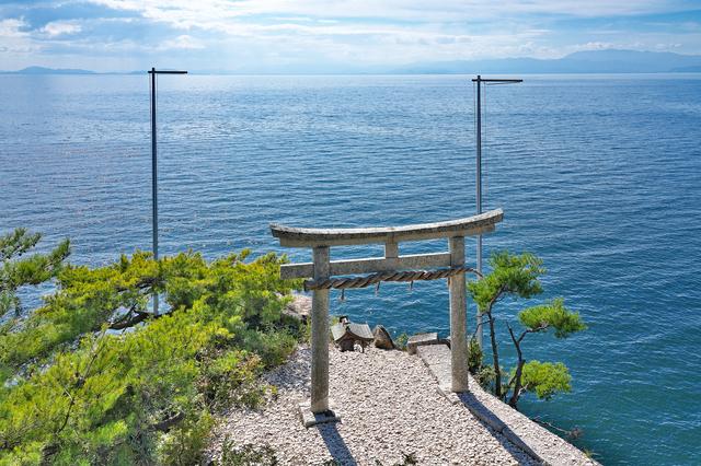 竹生島のパワースポット