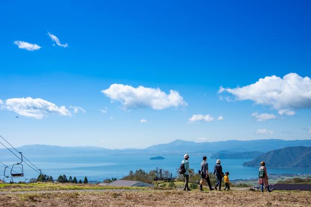 日本で一番大きな湖・琵琶湖