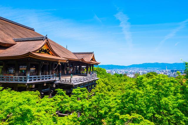 夏の清水寺