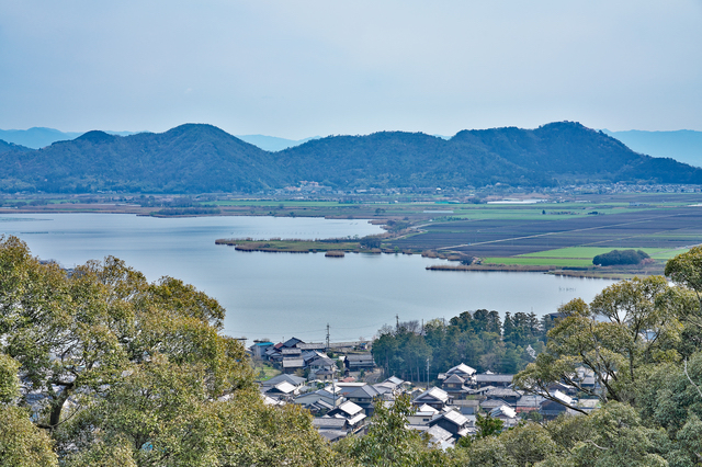 滋賀・安土山